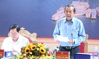 越南政府副总理张和平视察广宁省