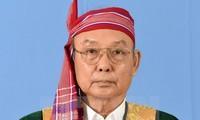 缅甸联邦议会议长兼民族院议长曼温凯丹开始对越南进行正式访问