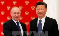 俄中两国领导人同意加强合作
