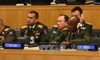 越南就参加联合国维和行动做出明确的政治承诺并制定具体步骤