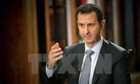 """叙利亚总统巴沙尔宣布不与支持""""叛军""""的国家重建关系"""