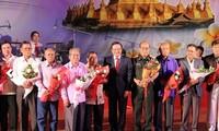 越老建交五十五周年:歌颂越老关系的歌曲创作比赛决赛令人印象深刻