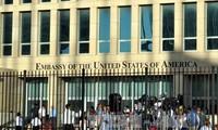古巴警告美国决定撤回驻古使馆部分外交人员将造成的后果