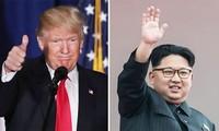 美国总统特朗普不排除会见朝鲜领导人金正恩的可能性