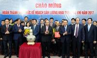阮春福:越南石油天然气集团要继续有效生产经营 宣示国家主权