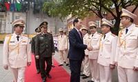 越南人民公安警卫力量成立65周年纪念典礼在河内举行