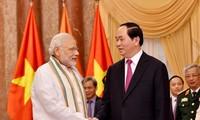 陈大光就其对印度进行的国事访问接受印度媒体专访