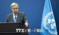 联合国秘书长对韩朝对话表示欢迎