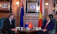 阮春福会见新西兰议会议长特莱弗‧马拉德