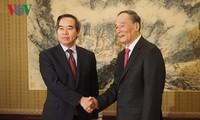 越共中央代表团访问中国