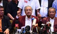 马来西亚新任总理马哈蒂尔宣誓就职