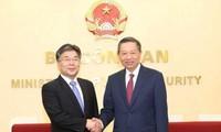 越南与韩国加强打击犯罪领域合作