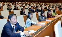 越南国会表决通过《国防法修正案》和2019年法律法令制定计划决议