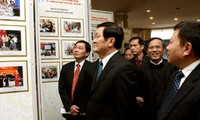 Staatspräsident beim 50. Jahrestag für Bevölkerung und Familienplanung