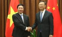 Der vietnamesische Außenminister zu Gast in China