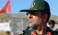Iranische Infanterie hält ein Manöver ab