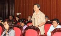 Gesetzausschuss der Nationalversammlung tagt in Hanoi