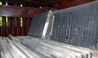 Die Holzdrucke in der Vinh Nghiem-Pagode