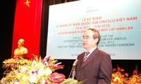 35. Gründungstag der vietnamesischen UNESCO-Kommission