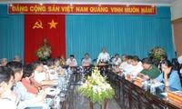Vizepremierminister Nguyen Xuan Phuc trifft Parteileitung von Ben Tre