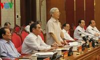 Politbüro berät die Entwicklung der Stadt mit Parteileitung in Hai Phong