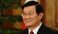 Staatspräsident Truong Tan Sang empfängt norwegischen Botschafter