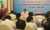 Zwischenbilanz der Umsetzung des Zusammenarbeitsabkommens in Fischerei zwischen Vietnam und China