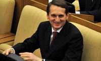 Dumas Präsident Evgenievich besucht Vietnam