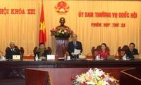 Eröffnung der neuen Sitzung des Ständigen Parlamentsausschusses