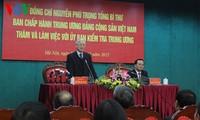KPV-Generalsekretär Nguyen Phu Trong: auf den Parteitag gut vorbereitet