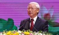 Feier zum 125. Geburtstag des Präsidenten Ho Chi Minh