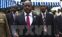 Burundis Präsident tritt zum ersten Mal nach dem Putschversuch auf