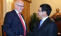 Vietnam und Deutschland fördern die Zusammenarbeit von Unternehmen beider Länder