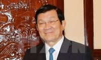 Staatspräsident Truong Tan Sang beteiligt sich am UN-Gipfel in USA und besucht Kuba