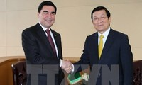 Staatspräsident Truong Tan Sang trifft Staats- und Regierungschefs anderer Länder