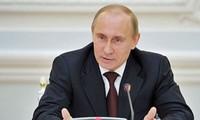 Russlands Präsident ruft Weltgemeinschaft zum Mitmachen auf