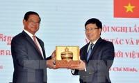 Grenzprovinzen Vietnams und Kambodschas verstärken ihre Kooperation