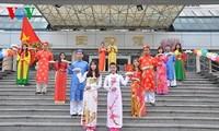 Vietnamesischer Festtag in Guangxi