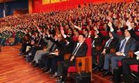 Mitteilung der Ergebnisse des Parteitags an diplomatisches Korps und internationale Organisationen