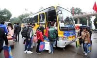 Kostenlose Fahrten in die Heimat zum Tetfest für Studenten und Arbeiter