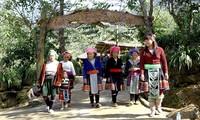 Gastfamilien im Dorf Sin Sui Ho in Lai Chau