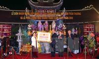 Tempel Tran Thuong als Sondernationalgedenkstätte anerkannt