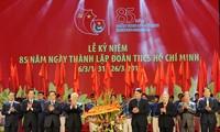 Feier zum 85. Gründungstag des Kommunistischen Jugendverbands Ho Chi Minh