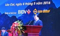 Investitions- und Tourismusförderungskonferenz in Lao Cai