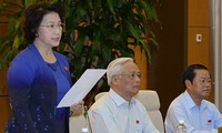 Ständiger Parlamentsausschuss diskutiert die Organisation und Aktivitäten von Schöffen