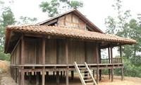 Häuser der Volksgruppe Nung
