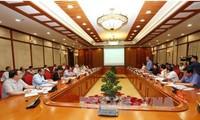 Politbüro und Parteisekretariat führen Themenkonferenz