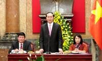 Staatspräsident Tran Dai Quang besucht Brunei