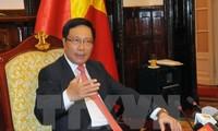 Vizepremierminister Pham Binh Minh reist nach Venezuela für Gipfel der Blockfreien-Bewegung