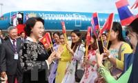 Parlamentspräsidentin Nguyen Thi Kim Ngan besucht offiziell Kambodscha